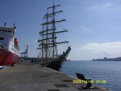 An der Pier in Las Palmas