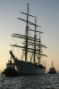Gorch Fock im Dock November 2011