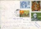 Briefumschlag mit Stempel