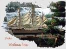 Gorch Fock Modell unterm Weihnachtsbaum