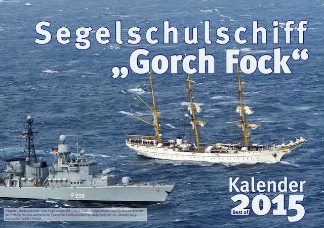 Gorch-Fock-Kalender 2014 the best of