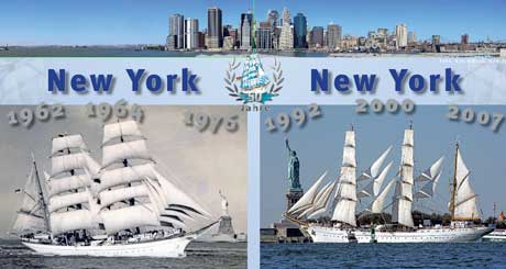 Gorch Fock in New York